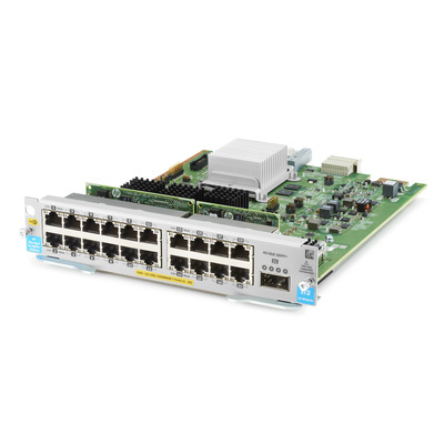 Hewlett Packard Enterprise 20-port 10/100/1000BASE-T PoE+ MACsec / 1-port 40GbE QSFP+ v3 zl2 .....