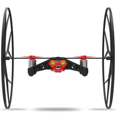 Parrot drone: Rolling Spider - Zwart, Rood