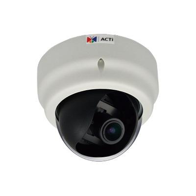 ACTi E67A Beveiligingscamera - Zwart, Wit