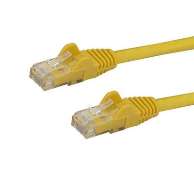 StarTech.com Cat6 patchkabel met snagless RJ45 connectors 1 m, geel Netwerkkabel