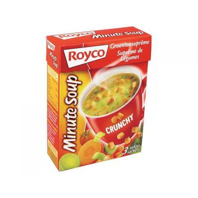 Royco voedingswaar: Minute soup Groente supr+croû/ds20