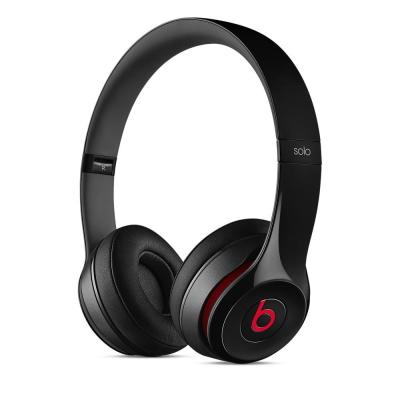 Apple headset: Beats Solo2 - Zwart, Rood
