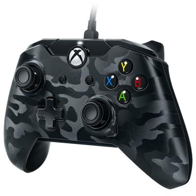 Pdp game controller: Wired Controller (Zwart Camo)  Xbox One / PC