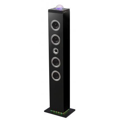 Bigben interactive home stereo set: Staande disco speaker met radio, Bluetooth en meer - Zwart