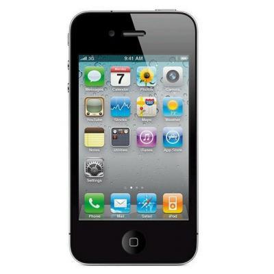 2nd by renewd smartphone: iPhone 4S - Zwart 32GB (Refurbished ZG)