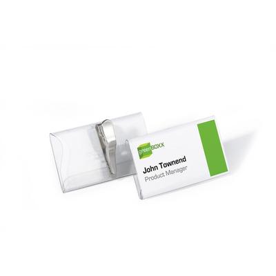 Durable 8110-19 Badge - Transparant