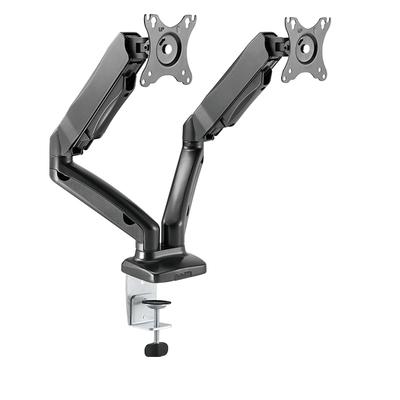 ICY BOX IB-MS304-T Monitorarm - Zwart