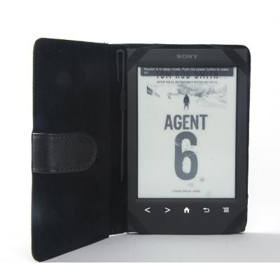 Odyssey e-book reader case: zwart cover, Sony PRS-T1/T2