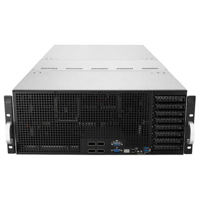Asus server barebone: ESC8000 G4 - Zwart, Roestvrijstaal