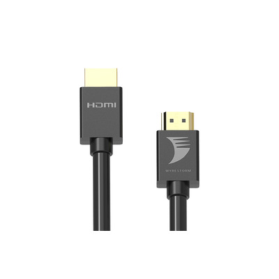 WyreStorm 4K HDR 4:4:4 60Hz HDMI Cable with CL3 Rating HDMI kabel - Zwart