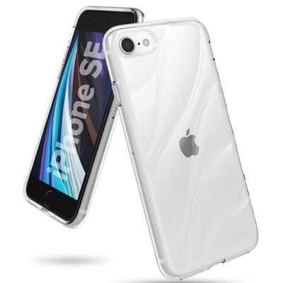 Flow Backcover iPhone SE (2020) / 8 / 7 - Transparant - Transparant / Transparent Mobile phone case