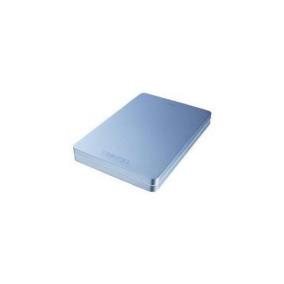 Toshiba externe harde schijf: Canvio Alu 3S 1TB - Blauw