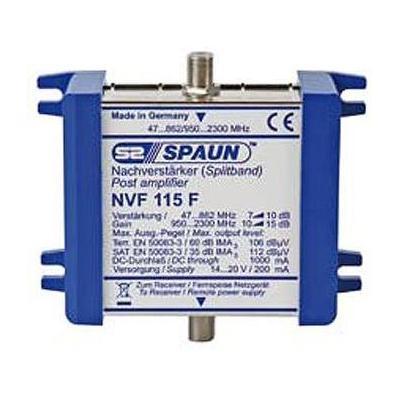 Spaun NVF 115 F Signaalversterker TV - Blauw