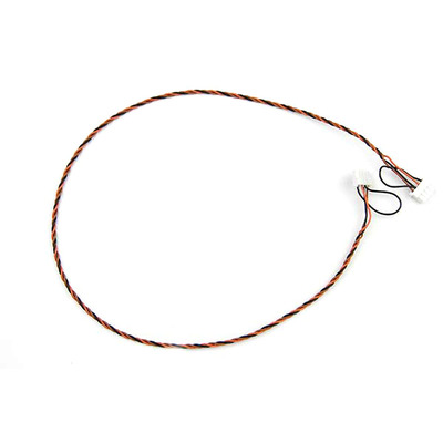 Supermicro CBL-CDAT-0601 Signaal kabel - Zwart, Rood, Wit, Geel
