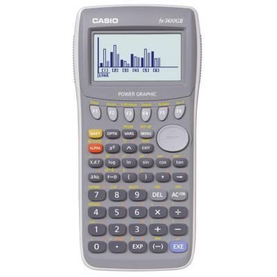 Casio calculator: FX-7400GII - Grijs