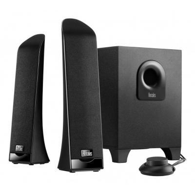 Hercules luidspreker set: 2.1 Slim - Zwart