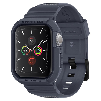 Spigen Apple Watch Series 5 / 4 (44mm) Case Rugged Armor Pro - Houtskool