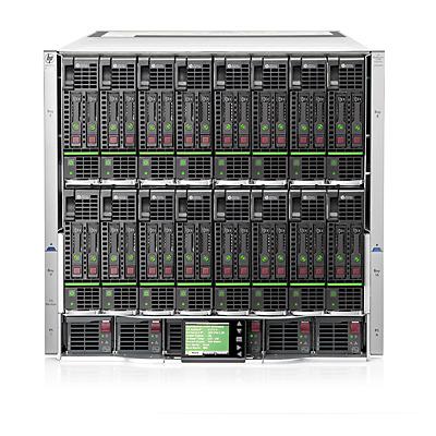 Hewlett Packard Enterprise BLc7000 Behuizing - Zwart, Grijs