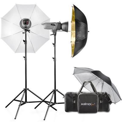 Walimex fotostudie-flits eenheid: pro Studioset VE 4.2 Excellence