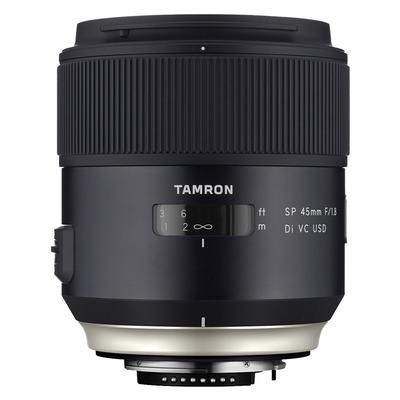 Tamron camera lens: SP 45mm F/1.8 Di VC USD - Zwart