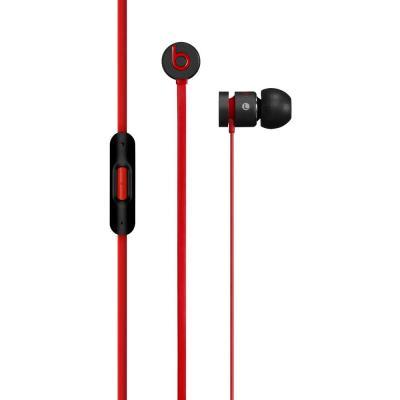 Apple headset: urBeats - Zwart, Rood
