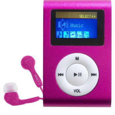 Difrnce MP855 - MP3 Speler - 4 GB - Roze MP3/MP4-spelers