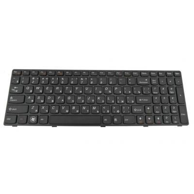 Lenovo notebook reserve-onderdeel: Keyboard for Essential B580 - Zwart