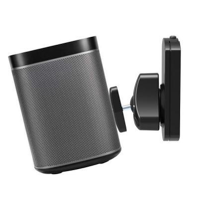Newstar speakersteun: De NM-WS130BLACK is een wandsteun voor een Sonos Play1 of Play3 luidspreker - Zwart