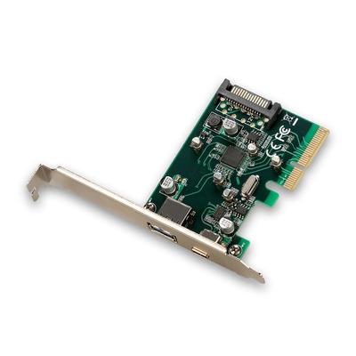I-tec PCE2U31AC Interfaceadapter - Groen