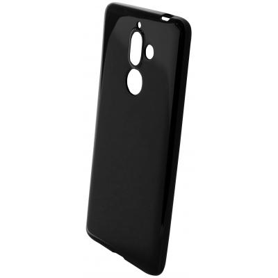 Mobiparts Classic TPU Case Nokia 7 Plus (2018) Black Mobile phone case - Zwart