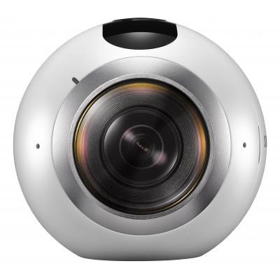 Samsung actiesport camera: Gear 360 - Zilver