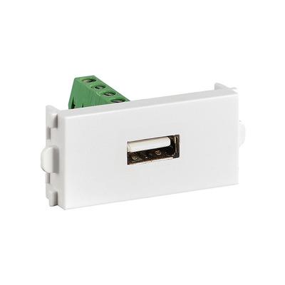 Value A/V Module (USB 2.0 Type A) Wandcontactdoos