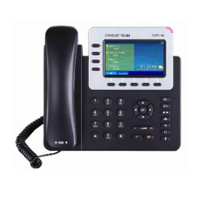 Grandstream Networks 4 lines, 4 SIP, 10/100/1000mbps, Bluetooth, HD audio, PoE, EHS IP telefoon - .....