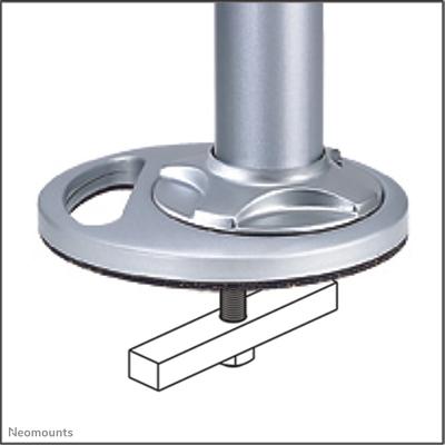 Neomounts by Newstar bureaudoorvoer Muur & plafond bevestigings accessoire - Zilver