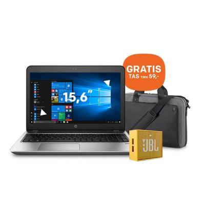 Hp laptop: ProBook 450 G4 15.6 inch i5-processor 128GB + GRATIS tas (P6N20AA) + GRATIS JBL speaker - Zilver