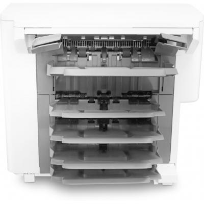 Hp papierlade: LaserJet nietmachine/uitvoer/sorteereenheid - Zwart, Wit (Demo model)