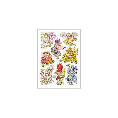 Herma sticker: Decorative label DECOR flower elves 3 sheets
