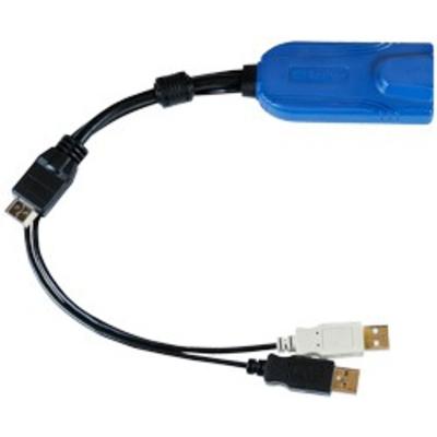 Raritan Digital HDMI, USB CIM KVM kabel - Multi kleuren, Zwart