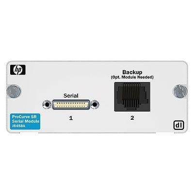 Hewlett packard enterprise netwerkbeheer apparaat: 1-port Serial dl Module
