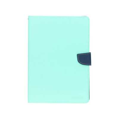 Canvas Diary Booktype iPad Pro 9.7 - Mintgroen / Mint Green Mobile phone case