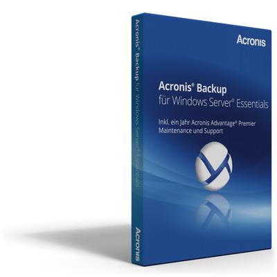 Acronis Backup 12 Windows Server Essentials Software licentie