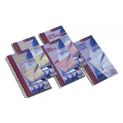 Atlanta register: Terugbelboek 74x125mm duplo 160v/pk 5