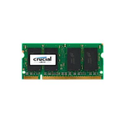 Crucial 2GB DDR2 SODIMM RAM-geheugen - Groen