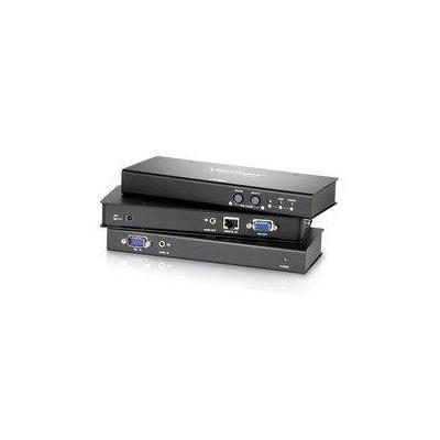Aten reciever: VGA Over Cat 5e/6 Audio/Video Receiver - Zwart