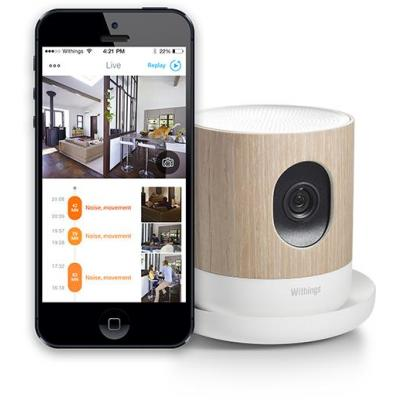 Withings beveiligingscamera: Home - Hout