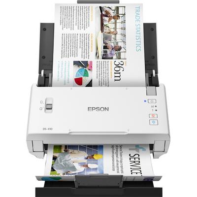 Epson WorkForce DS-410 Power PDF Scanner - Zwart,Wit