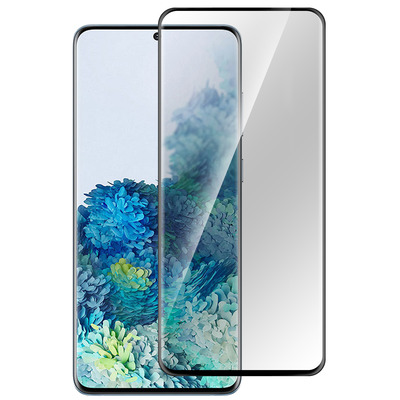 ESTUFF Samsung Galaxy S20+/5G Screen protector - Zwart,Transparant