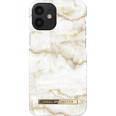 IDeal of Sweden Fashion Backcover iPhone 12 Mini - Golden Pearl Marble - Golden Pearl Marble Mobile .....