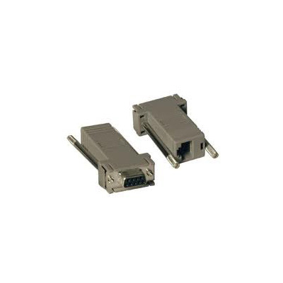 Hewlett Packard Enterprise HP RJ45-DB89 DCE Female 5 Pack Serial Adapter Kabel adapter