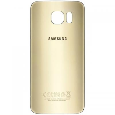 Samsung mobile phone spare part: Battery Cover, Gold - Goud